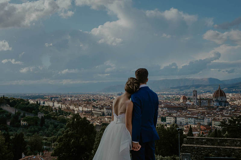 Fashion Elopement in Florence
