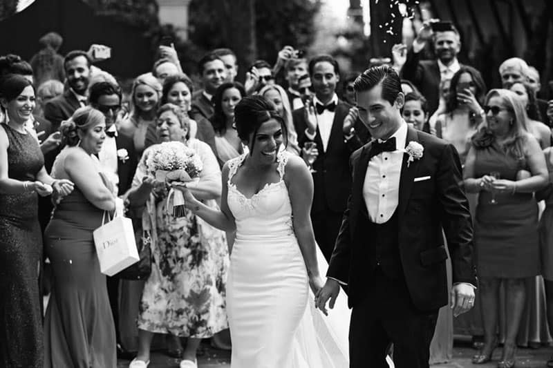 Lavish Persian wedding in Chianti